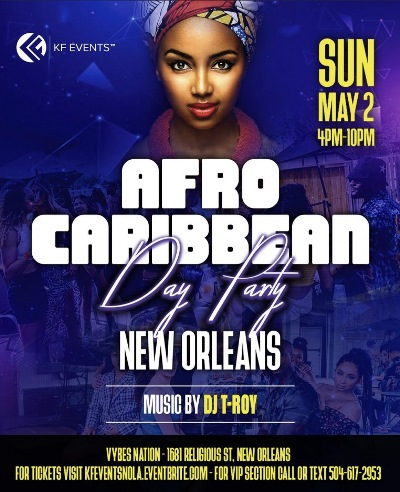 Afro Caribbean Day Party