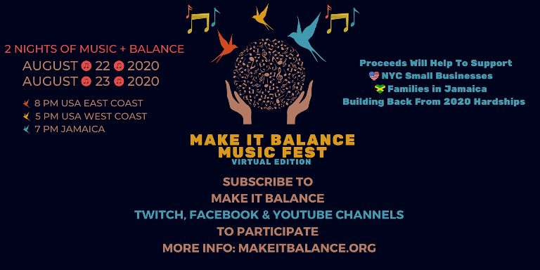 Make It Balance Music Fest - Virtual Edition