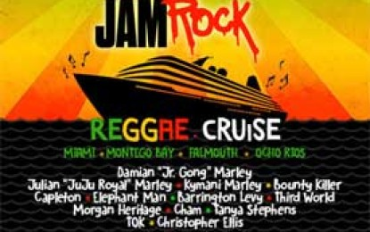 Welcome To Jamrock Reggae Cruise Announces Full Artist Line Up