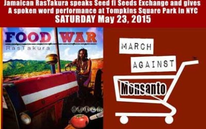 RasTakura Join the March Against Monsanto in NYC, May 23