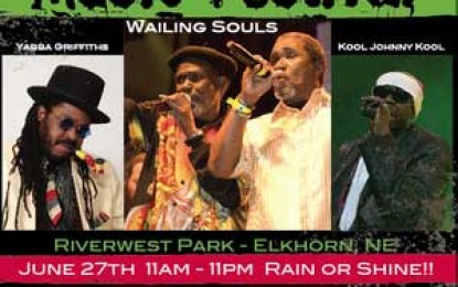 2nd Annual Omaha Solstice Reggae And World Music Festival-June 27, 2015