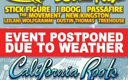 The Carolina Sessions Festival Postponed Because of Hurricane Joaquin