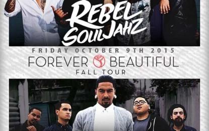 Friday October 9th : Rebel SoulJahz, Tribal Theory, & Jordan T live at Mezzanine San Francisco