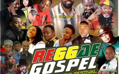 Nigeria's Reggae Gospel Music Festival Set For October 31st