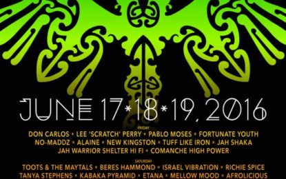 Roots Reggae Will be in Full Effect at SNWMF 2016 on Saturday, June 18th