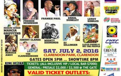 Startime For Juici Patties Clarendon Park Saturday July 2
