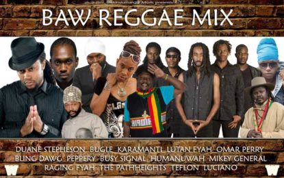 New Reggae Mixtape featuring Luciano, Duane Stephenson, Busy Signal Raging Fyah, Karamanti, Mikey General & more