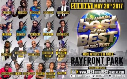 Best of the Best Concert Returns with Stellar Line Up