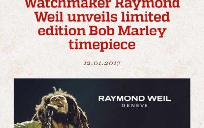 Limited Edition Bob Marley Timepiece