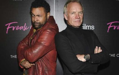 Sting is working on a reggae album with Shaggy