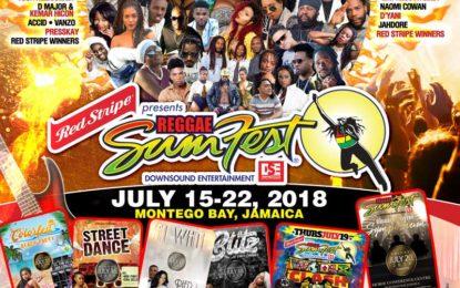 Reggae Sumfest 2018: A Week-Long Reggae Party in Paradise