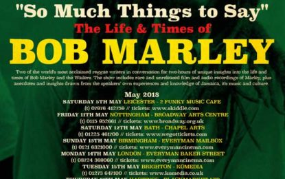 The Life and Time of Bob Marley