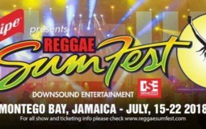 amaica's Largest Music Festival Reggae Sumfest in Jamaica… was a huge success!