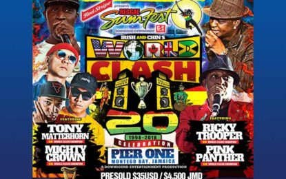 A New Live Stream has been added for Reggae Sumfest 2018