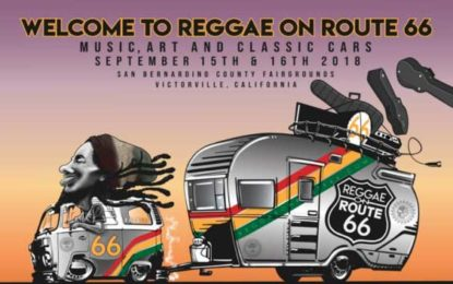 Award Winning Reggae Band The Green to Headline the 2018 Reggae on Route 66 Music Festival