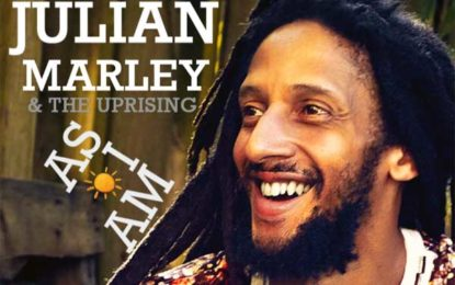 """Julian Marley's East Coast Tour, in Support of New Album, """"As I Am"""""""