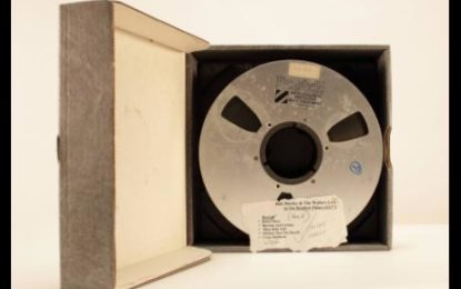 Lost Bob Marley Tapes To Be Auctioned