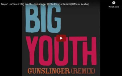 Hear Reggae Great Big Youth's Rendition of Bo Diddley's 'Gunslinger'