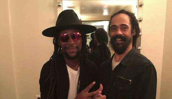 Jah Cure and Damian 'Jr. Gong' Marley