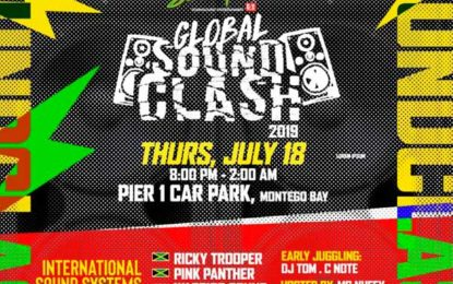Global Sound Clash Comes to Mobay  Thursday July 18th… A Clash Of The Titans!