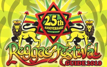 RBA Publishing Inc. is proud to announce the launch of the 25th anniversary issue of the annual  Reggae Festival Guide magazine