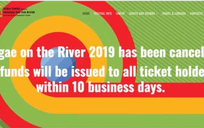 Reggae on the River Has Been Canceled (Humboldt County, Northern California)