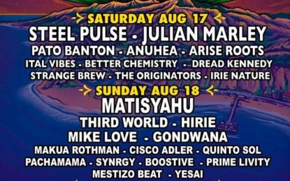 August 17 & 18, 2019 Reggae on the Mountain Music & Camping Festival