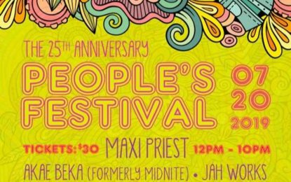 People's Festival  Wilmington's 25th Annual  Tribute to Bob Marley