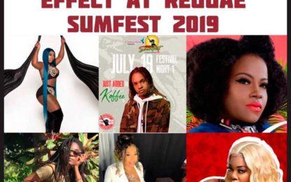 Female Energy in Full Effect at Reggae Sumfest 2019