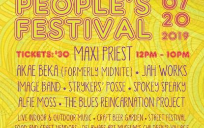 Congrats to People's Festival on their 25th anniversary – Coming July 20 to Wilmington, DE