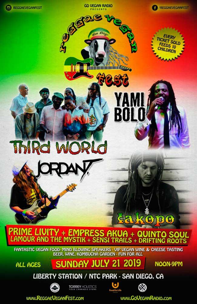 San Diego Reggae Vegan Fest