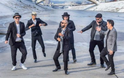 Ozomatli headlines Airfield Supply Co.'s Music in the Park presented by Metro on July 19.