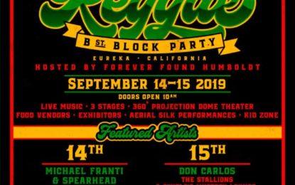 Michael Franti & Spearhead and Don Carlos Headline the Funk n Reggae B Street Block Party