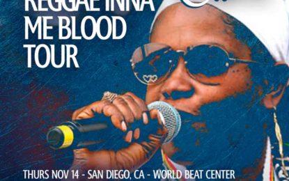 SISTER CAROL – MOTHER CULTURE – LYRICALLY POTENT – WORLD NEEDS LOVE – REGGAE INNA ME BLOOD TOUR – NOV / DEC 2019