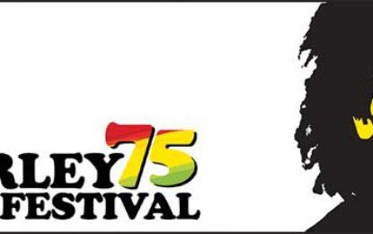 Program Marley75 Film Festival announced
