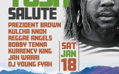 OUT OF MANY ONE PRODUCTIONS PRESENTS – PETER TOSH SALUTE