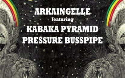 Arkaingelle                           New single & video    dropping today!