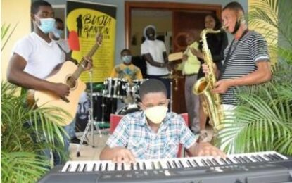 Buju Banton Foundation, Audiomack bring music to Mount Olivet Boys' Home