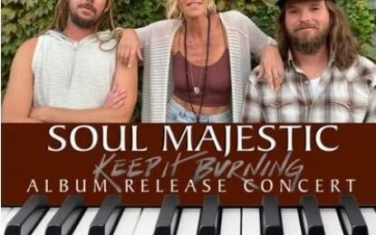 JOIN US — Soul Majestic Album Release Concert Livestream — April 9th from 7-10pm (PST)