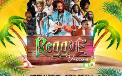 Purchase a copy of the Reggae Vaccine Album for a chance to WIN Dinner for two at Jamaica's5-star Mongoose Restaurant in Ocho Rios, Jamaica's destination capital!!!