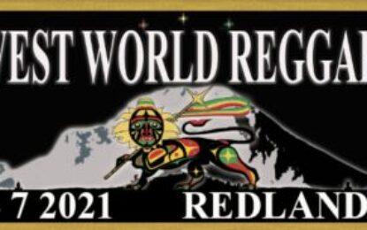 Oregon – 17th Annual Northwest World Reggae Festival – August 6